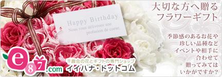 e87.com(千趣会イイハナ)誕生日フラワーギフト