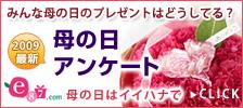 イイハナ・ドットコム e87.com(千趣会イイハナ)母の日特集 2009年母の日アンケート