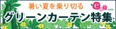 e87.com(千趣会イイハナ) グリーンカーテン