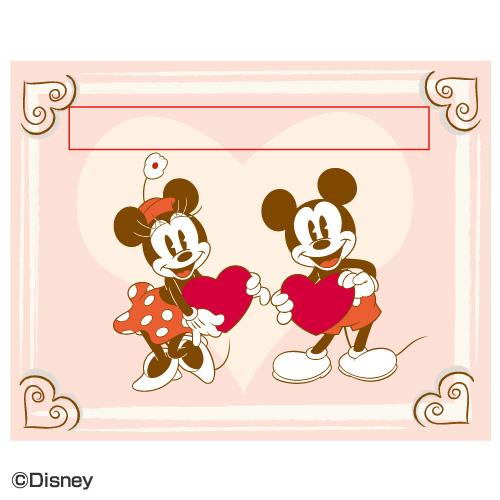 ディズニー プリザーブドフラワー「アニバーサリー プレート〜LOVE〜」