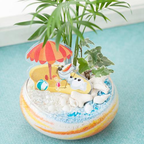 ディズニー観葉「オラフ in Summer〜オラフの夢の世界〜」