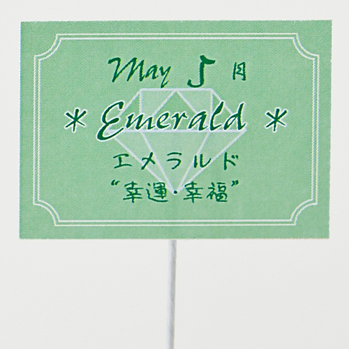 プリザーブドフラワー「誕生石ベア 5月エメラルド」