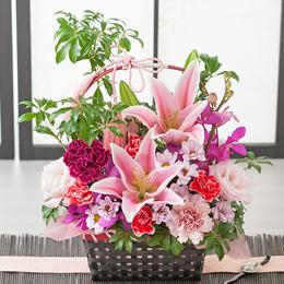 アレンジメント「華籠~華麗な贈り物~」
