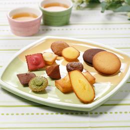 12種類の焼き菓子が入った贅沢な詰め合わせです。