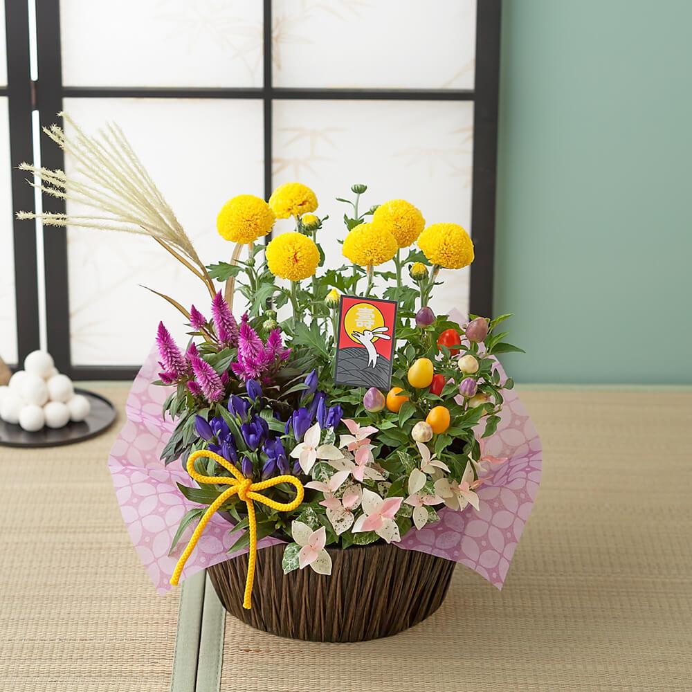 寄せ鉢「秋景の風」