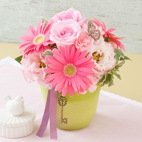 アレンジメント「ラ・クレ・デュ・ボンヌー〜rose〜」