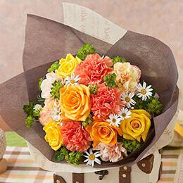 母の日 花束「チアフル・マム」