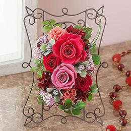 母の日 プリザーブドフラワー「マザーローズ〜バラの花に想いを込めて〜」