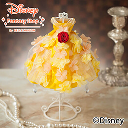 母の日 ディズニー プリザーブドフラワー「プリンセス・ベル」