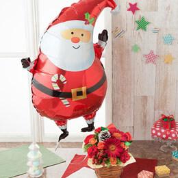 EXアレンジメント「ぷわぷわクリスマスのバルーンBOX」