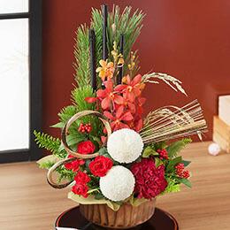 お正月 アレンジメント「豊穣の宴」