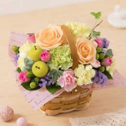 【母の日フラワーギフト】アレンジメント「a Little Garden=優しい時間=」