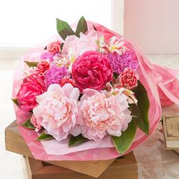 花束「芍薬美人」