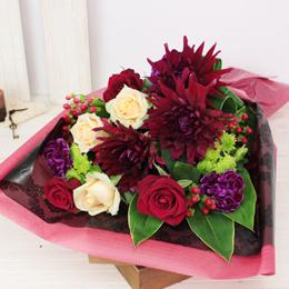 花束「Dahlia Rouge〜特別な贈り物〜」