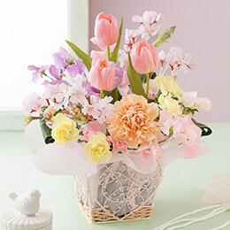 アレンジメント「Sakura Garden〜春の香り〜」