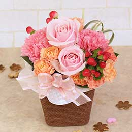 アレンジメント「For my Valentine〜大切なあの人へ〜」