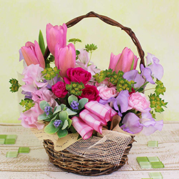 EXアレンジメント「Spring garden〜春の陽射し〜」
