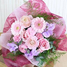 花束「メルシー・ボンボン」