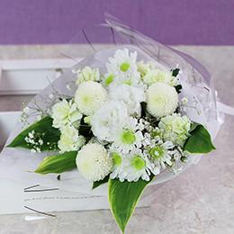 花束「ホワイト・ベール」
