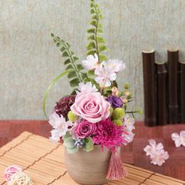 【最速で翌日配送対応】プリザーブドフラワー「初桜」