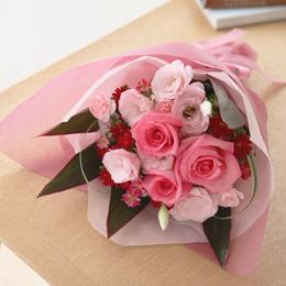 花束「ピンク・ソルベ」