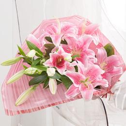 花束「プレミアムリリー」