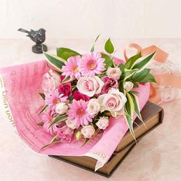 花束「ジェルブラ ・ローズ」