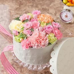 EXアレンジメント「Pastel Cake」