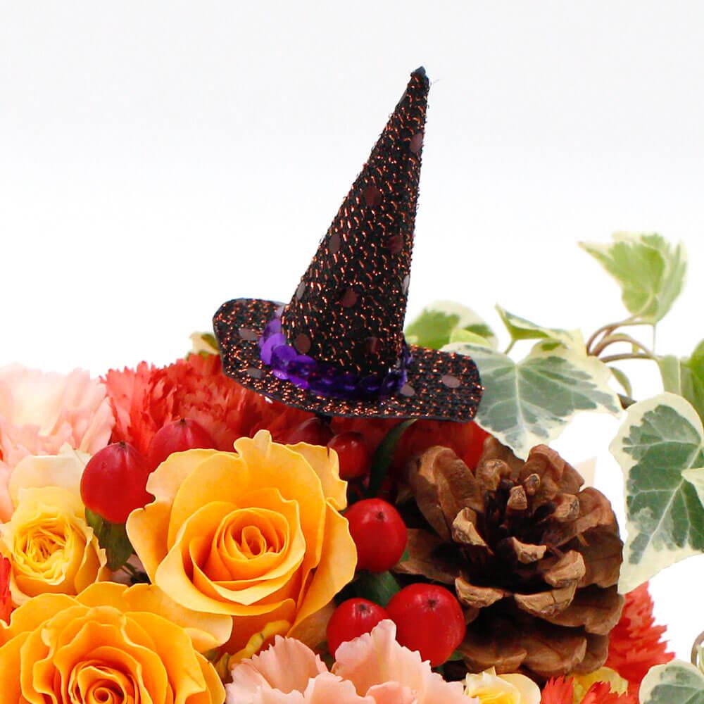 アレンジメント「Let's enjoy Halloween〜Yellow〜」