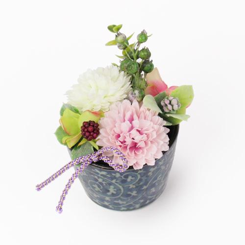 アートフラワーセット「京都吉祥庵 茶の雫ロールケーキ&本わらびきな粉餅」