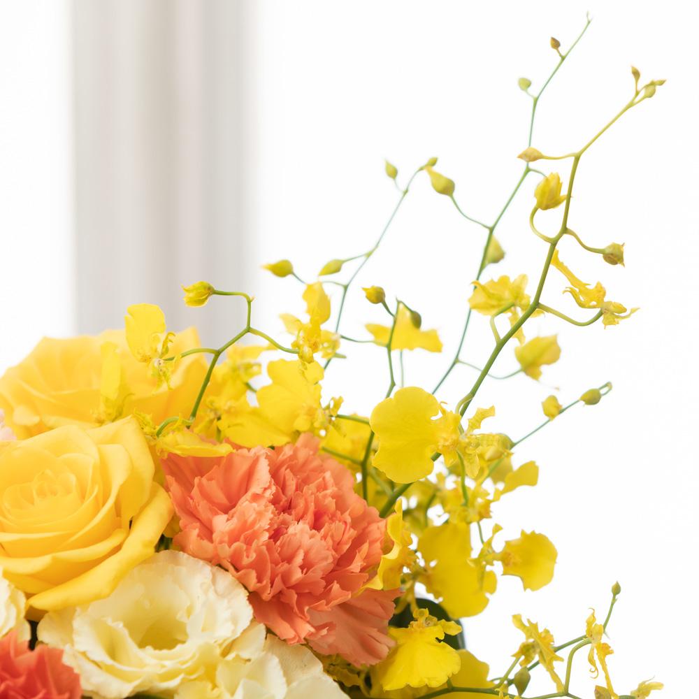 アレンジメント「レディ・ライク〜Yellow〜」