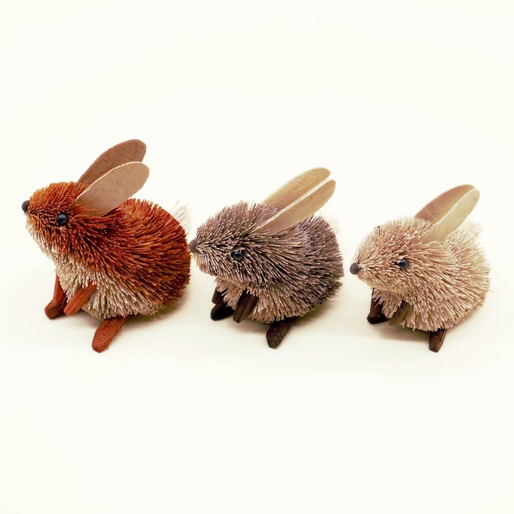 デザイナー岩橋さんアレンジメント「ウサギのフラワーバスケット」S