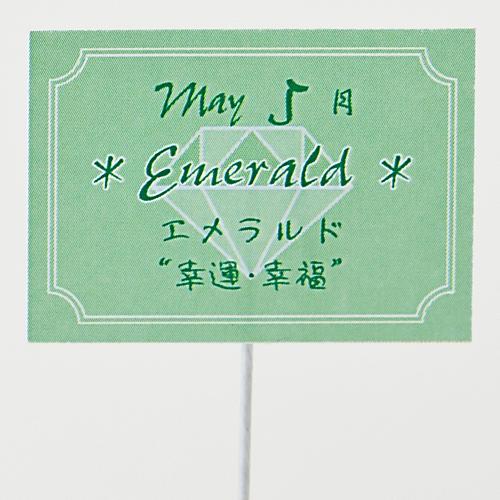 EXプリザーブドフラワー「誕生石ベア 5月エメラルド」