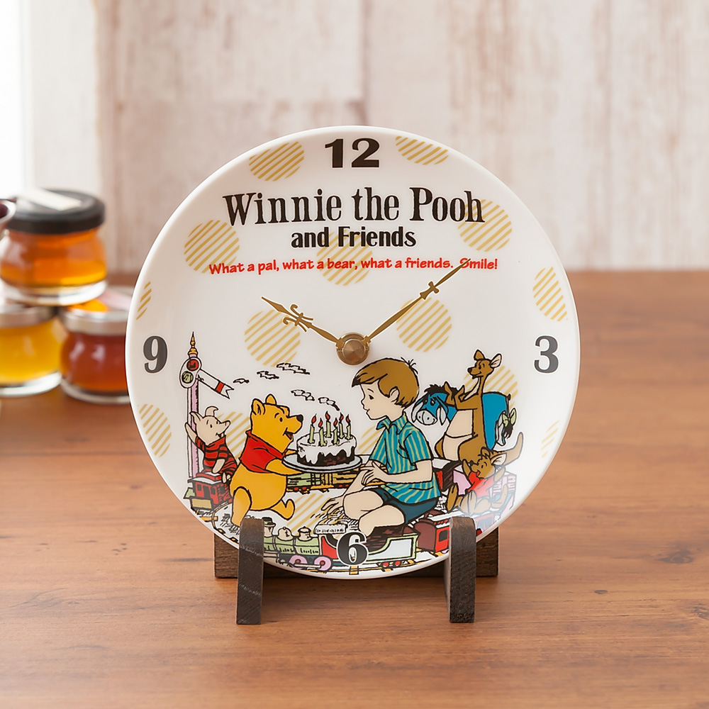 EXディズニー プリザーブドセット「くまのプーさんの陶時計」