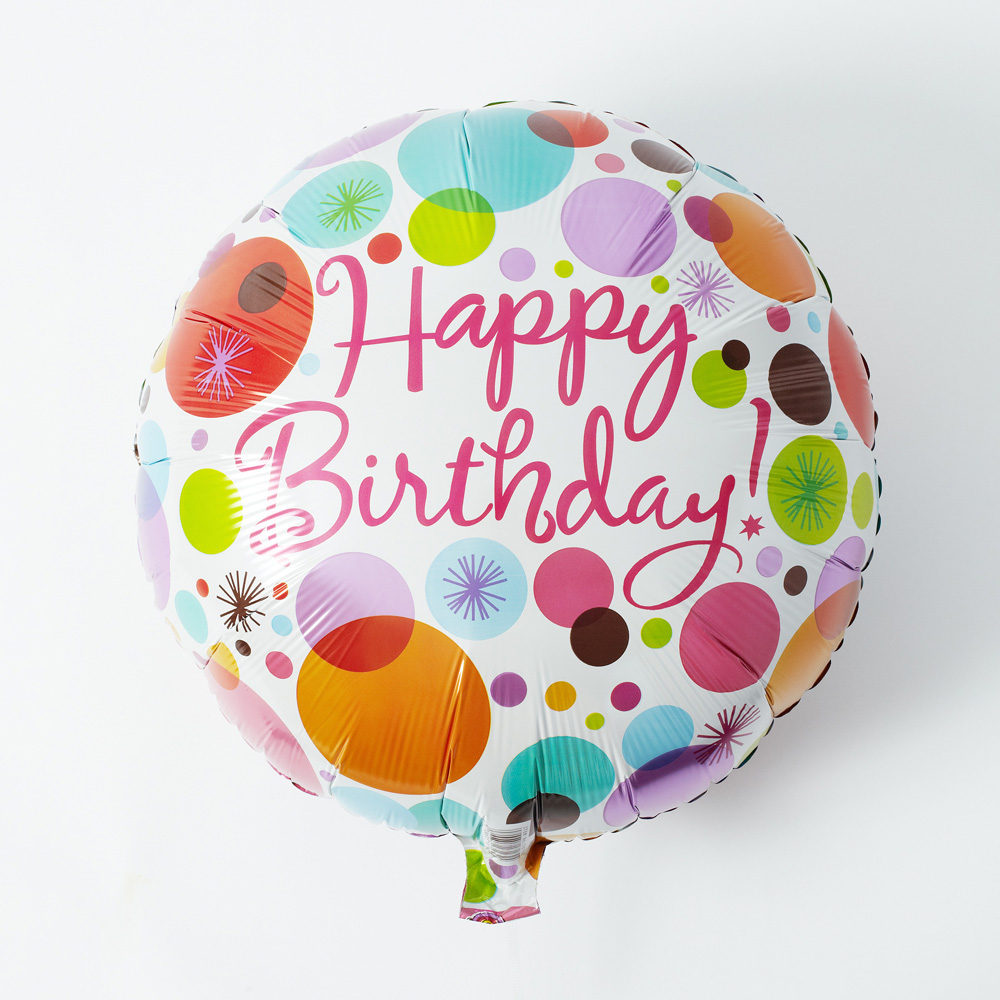 EXアレンジメント「ぷわぷわバルーン〜Happy Birthday〜」