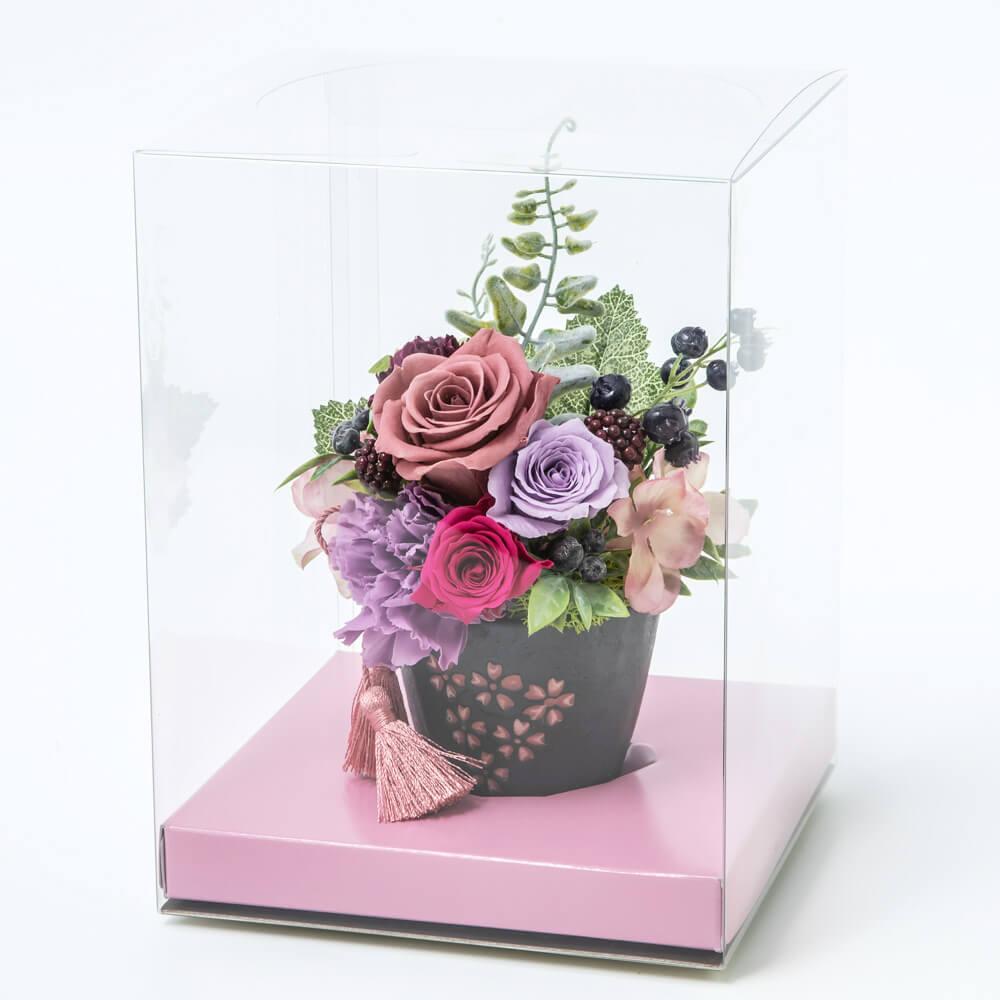 EXプリザーブドフラワー「桜花日華」