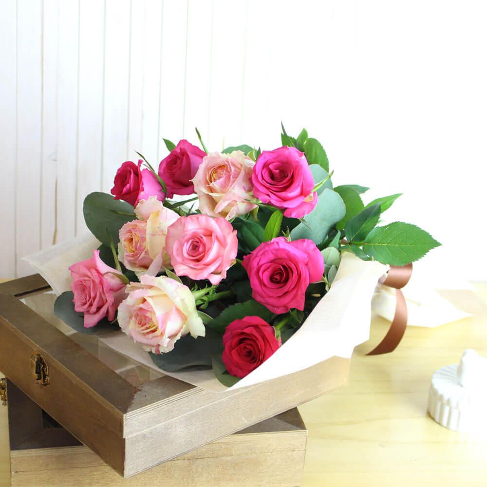 花束「フィスタ〜バラの季節〜」