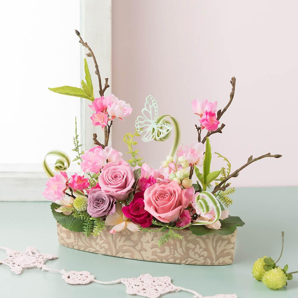 プリザーブドフラワー「桜の詩」