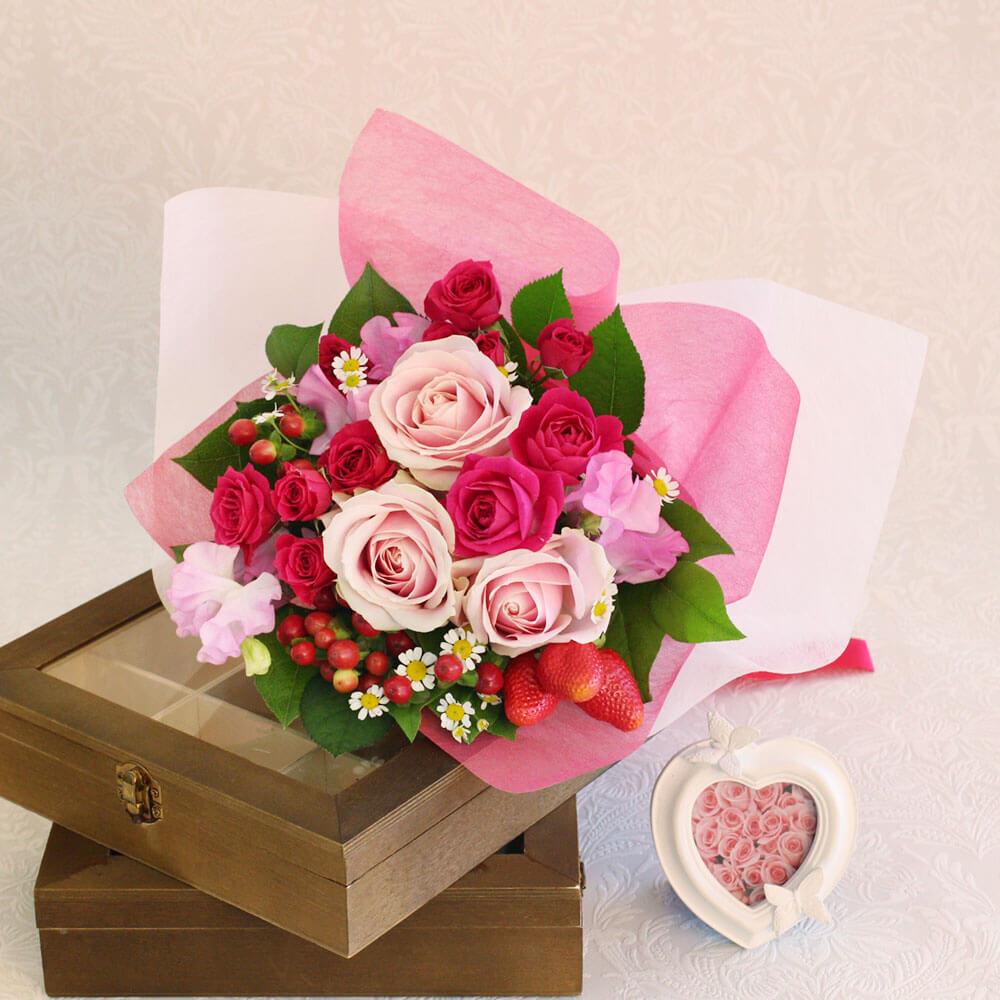 EX花束「Strawberry bouquet」
