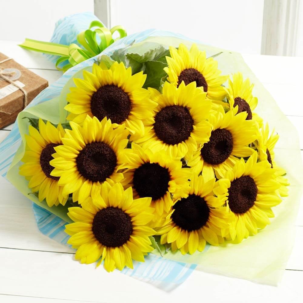 花束「笑顔の贈りもの 〜ヒマワリ〜」