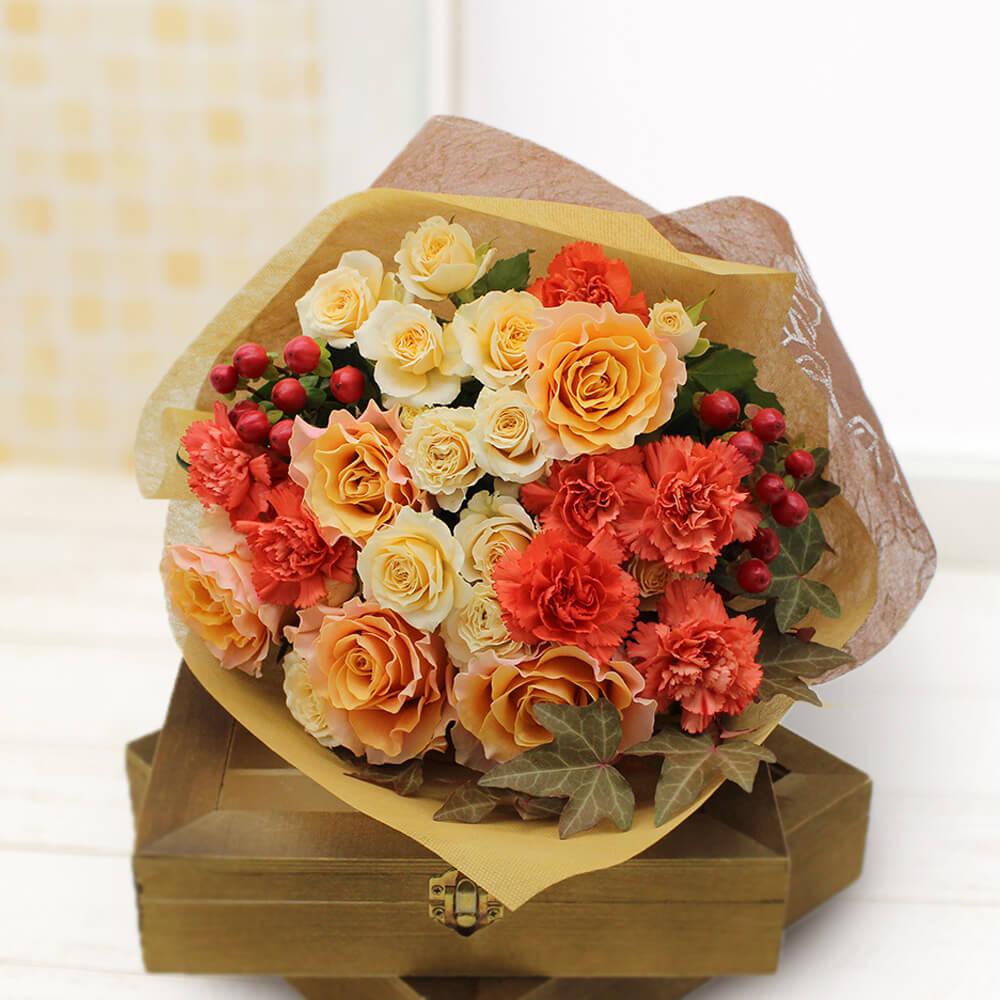 花束「Autumn Rose」