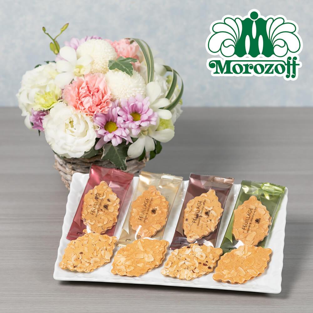 お供え花セット「モロゾフ ファヤージュ(桜)」