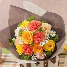 母の日 花束「陽だまり〜感謝を込めて〜」