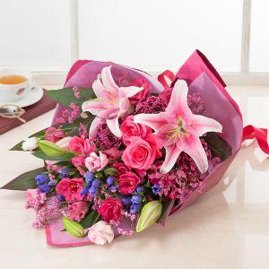 敬老の日 花束「麗しの慶び」