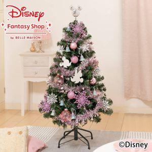 ディズニー/クリスマスツリーセット「スノーロマンティカ」120cm(LEDライト付き)