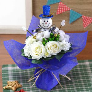 花束「Snowmanと一緒」