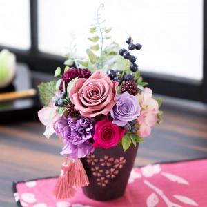 母の日 プリザーブドフラワー「桜花日華」