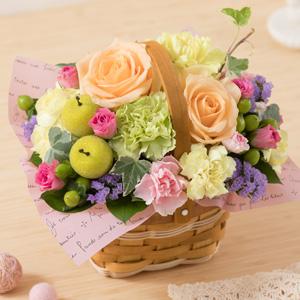 母の日 アレンジメント「a Little Garden〜優しい時間〜」