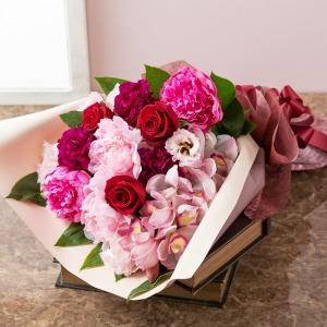 母の日 花束「フェリシテ〜至福のひととき〜」