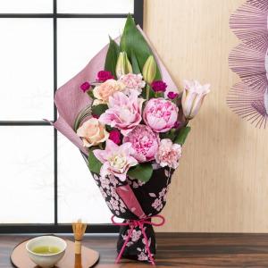 母の日 花束「まごころ包み〜京都めぐり〜」